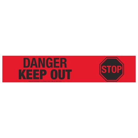 Danger Keep Out (Graphic) Tape