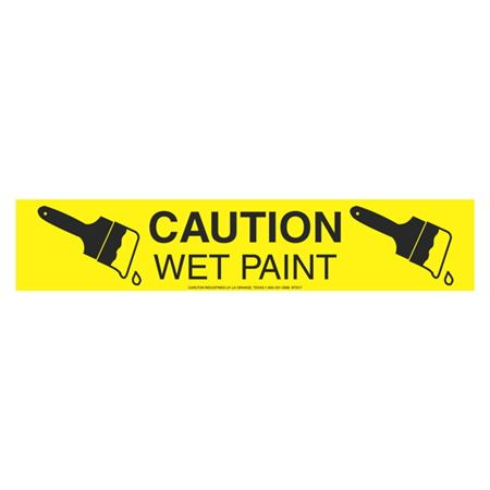Caution Wet Paint (Graphic) - 1000 Feet