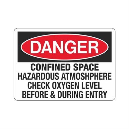 DangerConfinedSpaceHazardousAtmos-phereCheckOxygenLevel