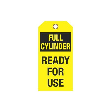 Cylinder Tags - Full Cylinder Sign