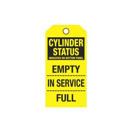 Cylinder Tags - Cylinder Status Sign