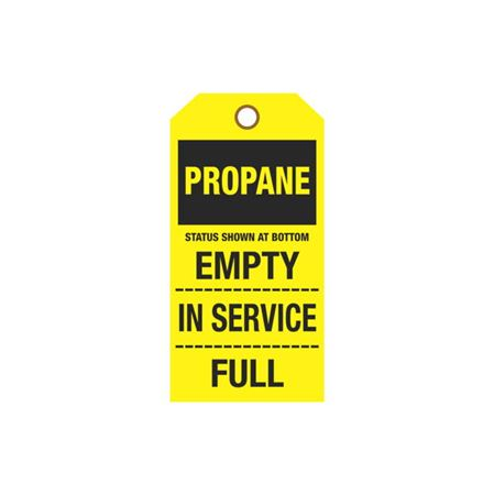 Cylinder Tags - Propane Sign