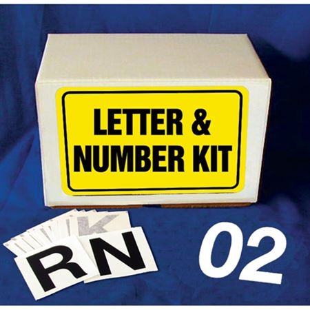Die Cut Numbers and Letters Combo Kit