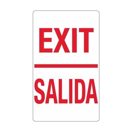 Exit / Salida Sign