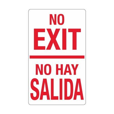 No Exit / No Hay Salida Sign