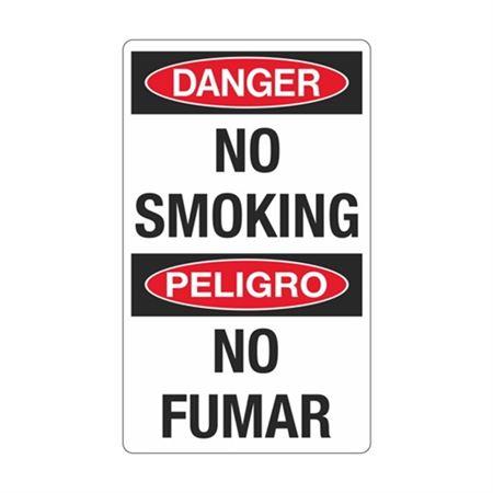 Danger No Smoking / Peligro No Fumar Sign