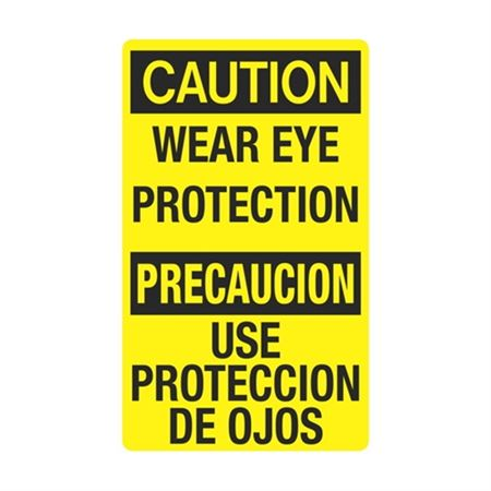 Wear Eye Protection / Use Proteccion De Ojos Sign