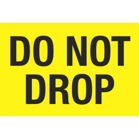 Do Not Drop - Large 3x5 in