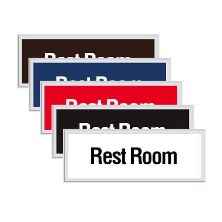 Engraved Door Sign - Rest Room