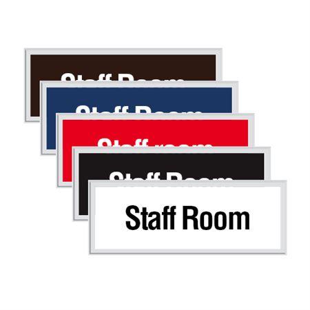 Engraved Door Sign - Staff Room