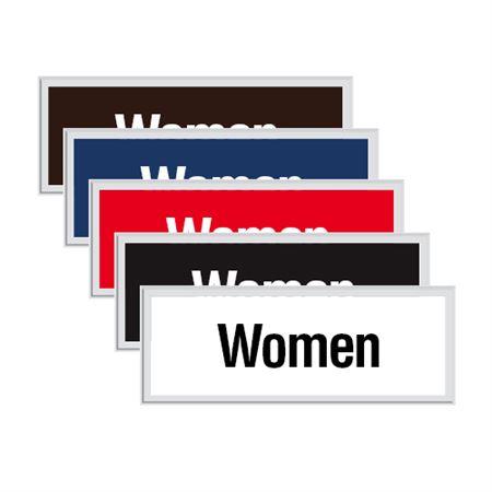 Engraved Door Sign - Women