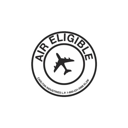 "Air Eligible Labels - Worded 2"" diameter"