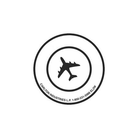 Air Eligible Labels - Wordless 3 inch diameter