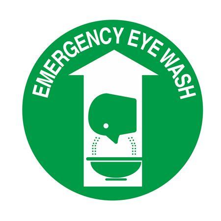 Emergency Eye Wash - 18 inch diameter