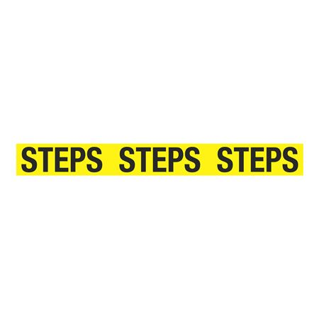 Anti-Slip Floor Decals - STEPS STEPS STEPS 4 inches x 36 inches