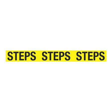 Anti-Slip Floor Decals - Steps Steps Steps  - 4 x 36