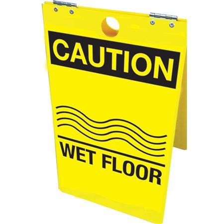 Caution Wet Floor Floor Stand 12x20