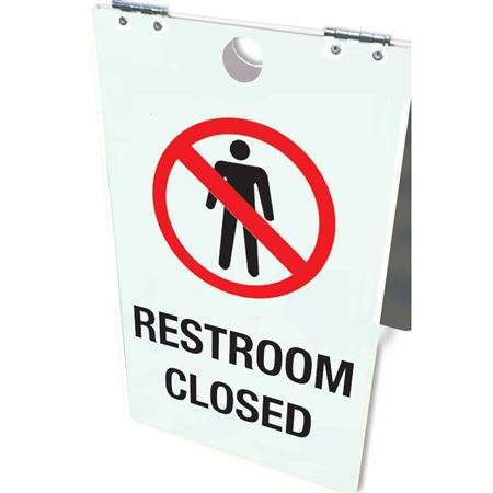 Restroom Closed Floor Stand 12x20