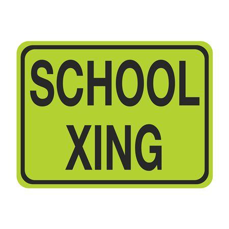 School Xing Sign 24 x 18
