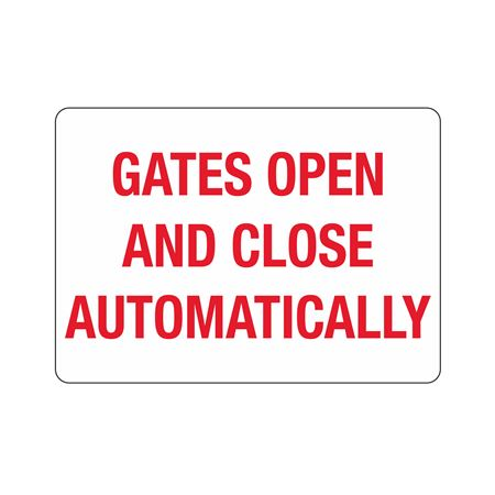 Gate Directional - Gates Open And Close Automatically 10 x 14