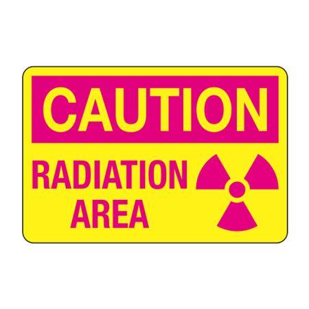 Caution Radiation Area Decal