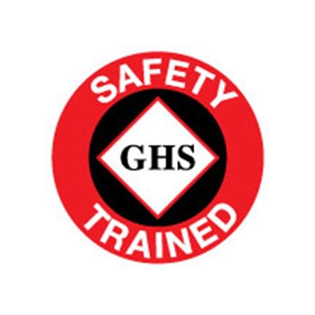 GHS Hard Hat Decal - Reflective Conformable Vinyl 2 Inch Diameter