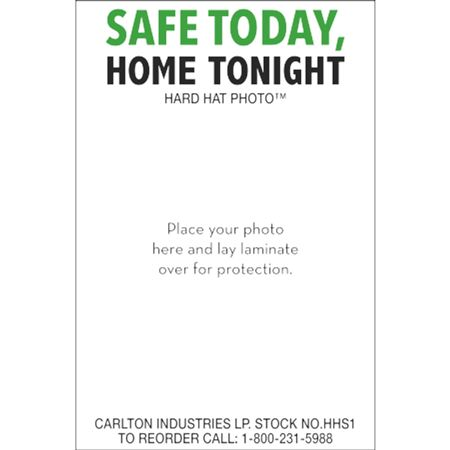 Safe Today Home Tonight - Hard Hat Safety Decal 3 x 2