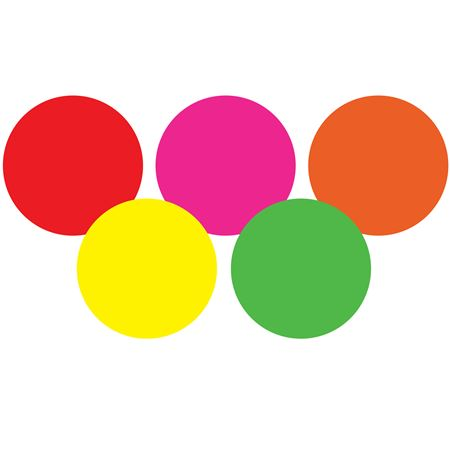 Hot Label Kits - Circular 4 x 4