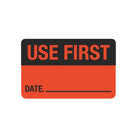 Calibration Hot Labels - Use First Date - 1 1/2 x 2 3/8