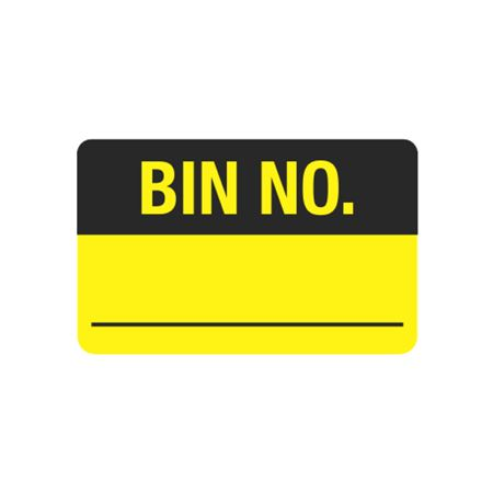 Calibration Hot Labels - Bin No.__ 1.5 x 2.375