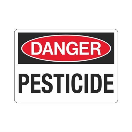 Danger Pesticide (Hazmat) Sign