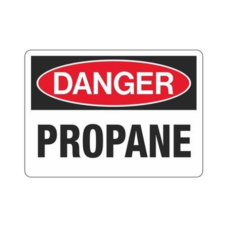 Danger Propane (Hazmat) Sign
