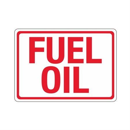 Fuel Oil (Hazmat) Sign