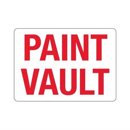 Paint Vault Sign