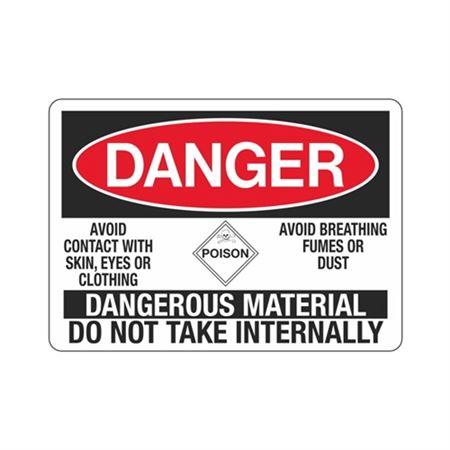 Danger Dangerous Materia … ot Take Internally Sign