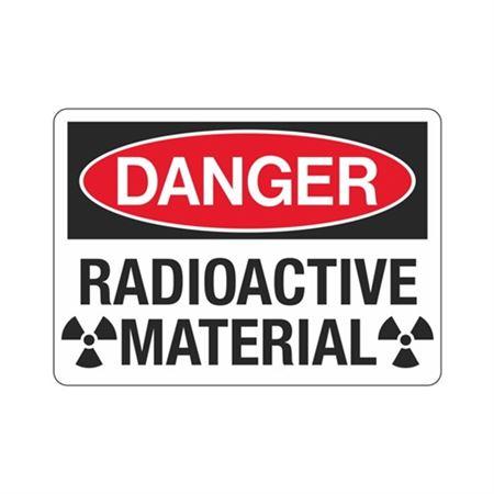 Danger Radioactive Material Sign