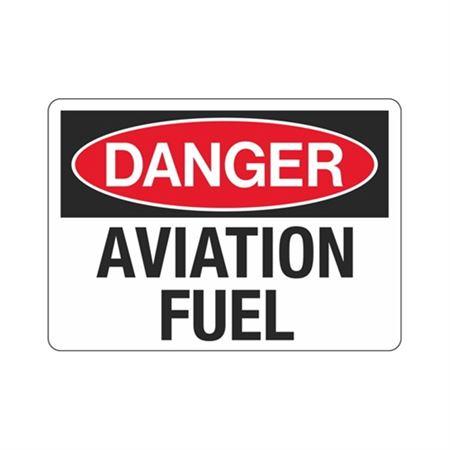 Danger Aviation Fuel Sign