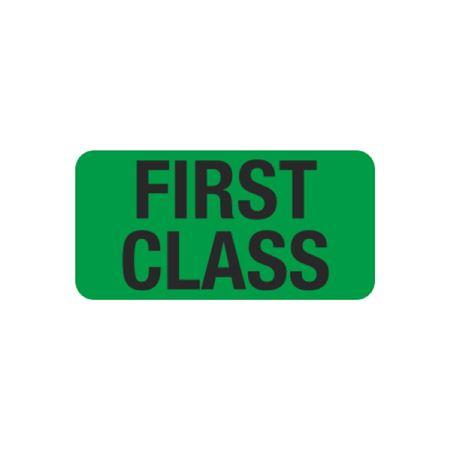 First Class - 1 x 2
