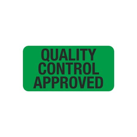 Quality Control Approved - 1 x 2