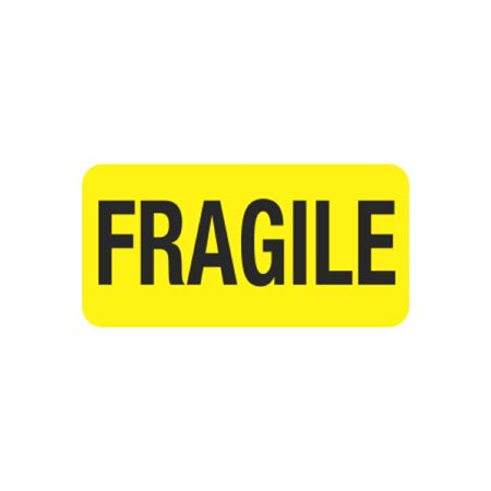 Pre-Printed Hot Strips - FRAGILE - 1 x 2