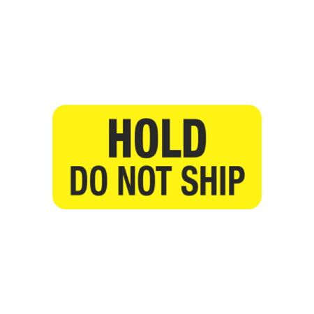 Hot Strips - Hold Do Not Ship - Yellow 1 x 2