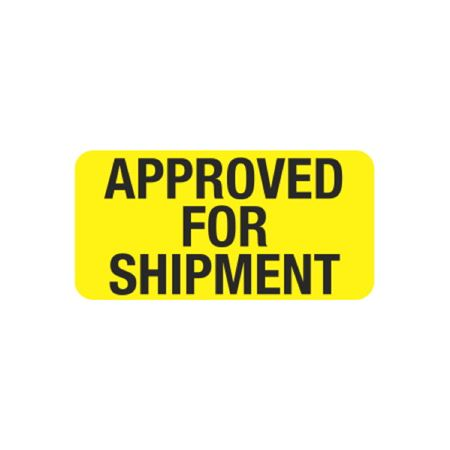 Hot Strips - Approved For Shipment - Yellow 1 x 2