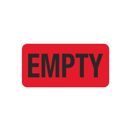 Hot Strips - Empty - Red 1 x 2