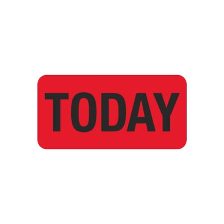 Hot Strips - Today - Red 1 x 2