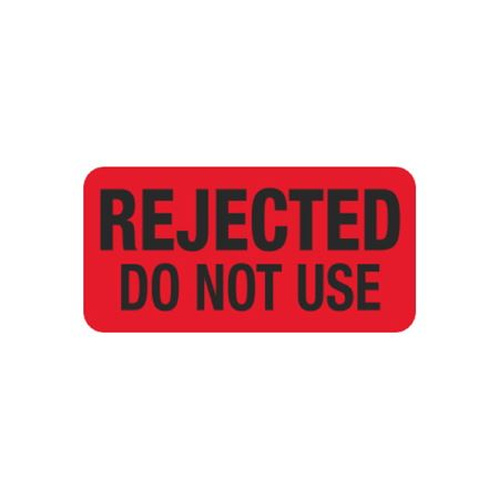 Pre-Printed Hot Strips - Rejected Do Not Use - 1 x 2