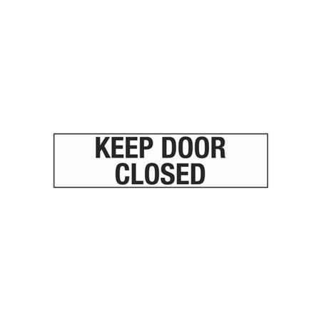 Keep Door Closed - 2 x 8