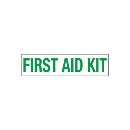 First Aid Kit - 2 in. x 8 in.