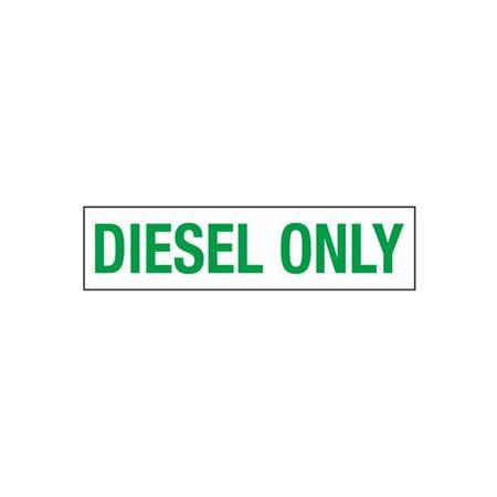 Diesel Only - 2 in. x 8 in.