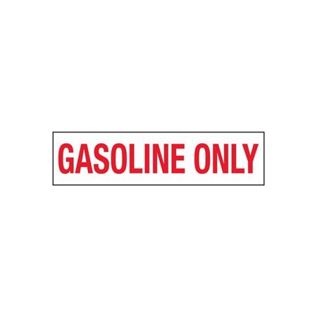 Gasoline Only - 2 in. x 8 in.