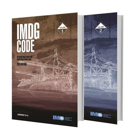 IMDG Code, 38th Amendment - 8.25 in. x 11.66 in.